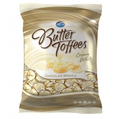 Bala Butter Toffees Chocolate Branco 160gr (1850)