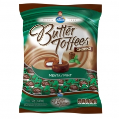 Bala Butter Toffees Chokko Menta 750gr (1963)