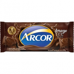 Chocolate Arcor Amargo 53% 140gr (2314)