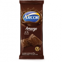 Chocolate Arcor Amargo 53% 55gr (2429)
