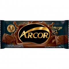 Chocolate Arcor Amargo 70% 140gr (2182)