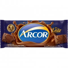 Chocolate Arcor Ao Leite 140gr (2192)