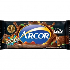 Chocolate Arcor Rocklets 140gr (2181)