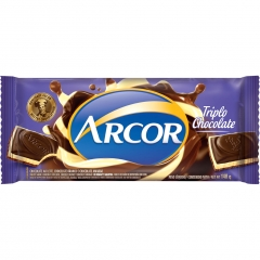 Chocolate Arcor Triplo 140gr (2183)