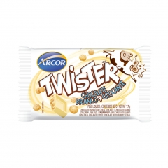 Chokko Arcor Twister Branco Crocante 17gr (868)