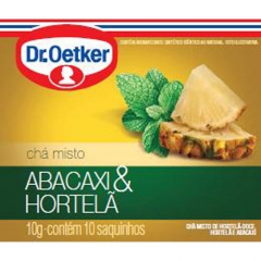 CHA DR OETKER ABACAXI COM HORTELÃ C10 (2325)