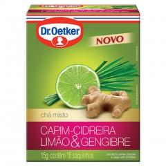 CHA DR OETKER CIDREIRA, LIMÃO E GEN C15 (2114)