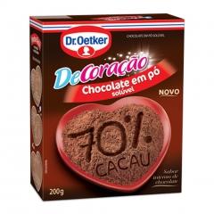 CHOCOLATE EM PO DR OETKER 70% CACAU 200gr (2389)