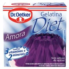 GELATINA DR OETKER DIET AMORA  12gr (794)
