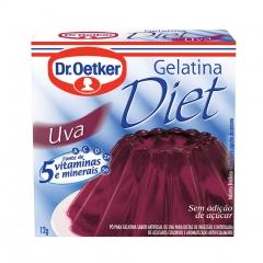 GELATINA DR OETKER DIET UVA 12gr (293)