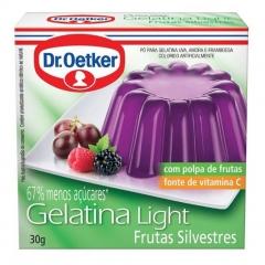 GELATINA DR OETKER LIGHT FRUTSILVE 30gr (197)