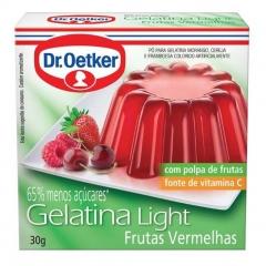 GELATINA DR OETKER LIGHT FRUTVERME 30gr (404)