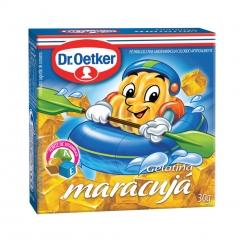 GELATINA DR OETKER REGULAR MARACUJA 30gr (131)