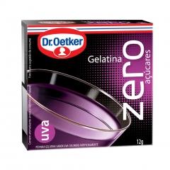 GELATINA DR OETKER ZERO UVA  12gr (985)