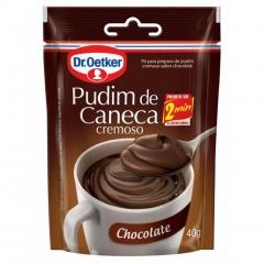 PUDIM DR OETKER CANECA CHOCOLATE 40Gr (1828)