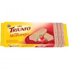 Wafer Triunfo Morango 130gr (2437)